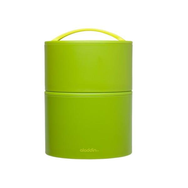 Pojemnik termiczny na obiad Bento 0.95 l, zielony