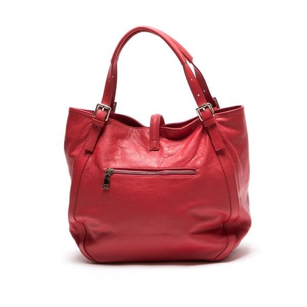 Skórzana torebka Theresa, czerwona