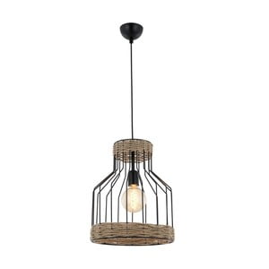 Lampa wisząca Avoni Lighting 1584 Series Black Chandelier Lungo