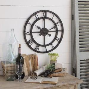 Zegar naścienny Industrial Rusty Black, 50 cm