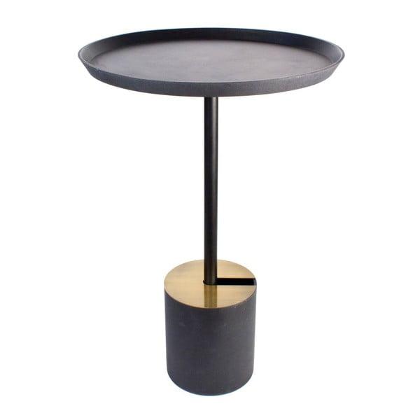 Stolik Coffe Scandi Black, 49x70 cm