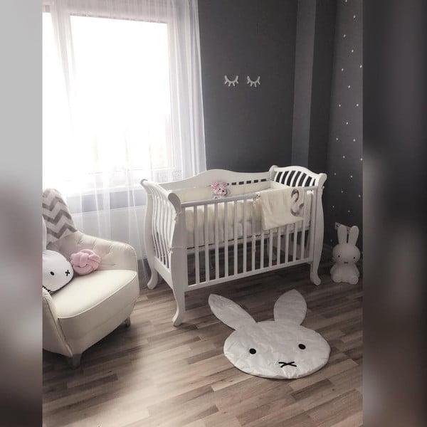 Białe łóżeczko dziecięce YappyKids La:le, 120x60 cm