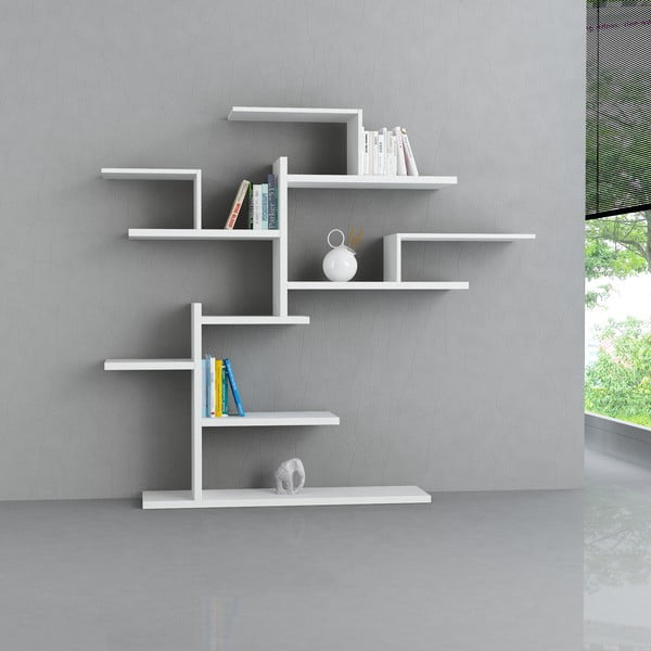 Półka stojąca Bonsai, biała