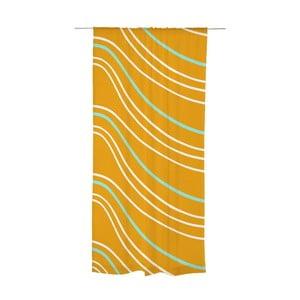 Zasłona Sade Orange, 140x240 cm