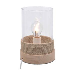 Drewniana lampa stołowa Natural
