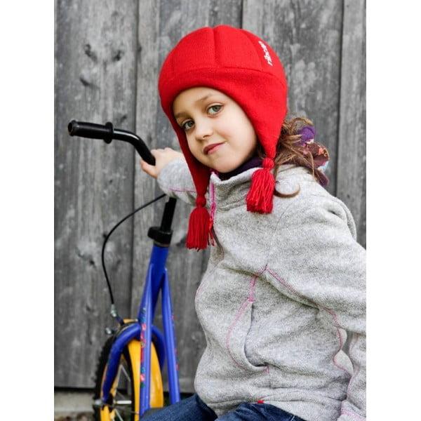 Niebieska dziecięca czapka ochronna Ribcap Chessy, L