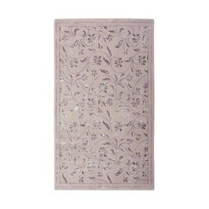 Fioletowy dywan Floorist Florist, 120x180 cm