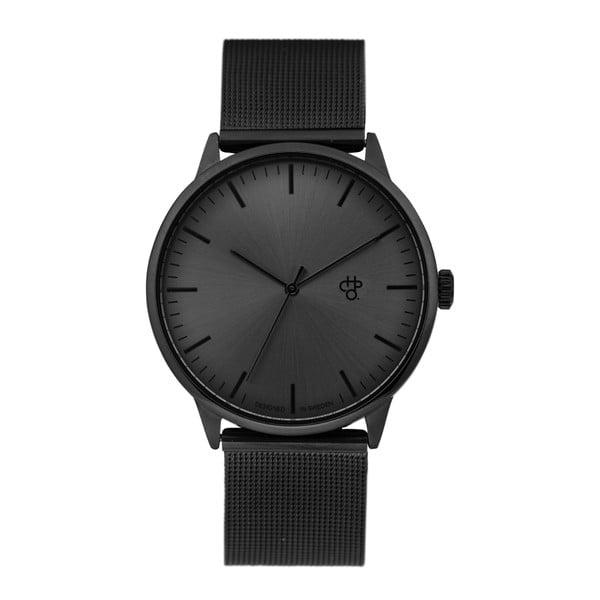 Zegarek w czarnej metalicznej barwie CHPO Nando