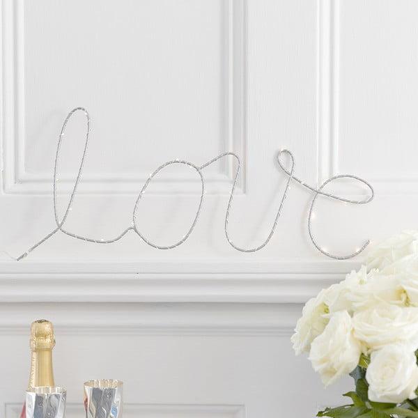 Świecąca dekoracja Love Sign