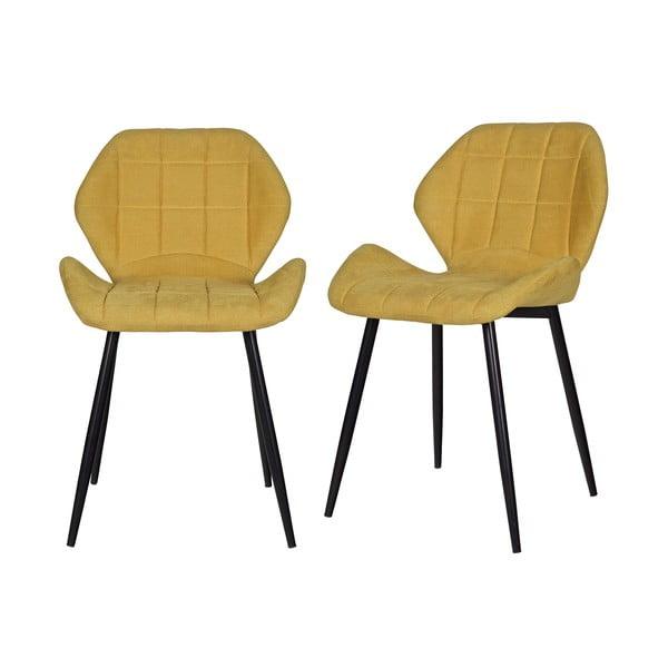 Zestaw 2 krzeseł do jadalni Fedde Mosterd