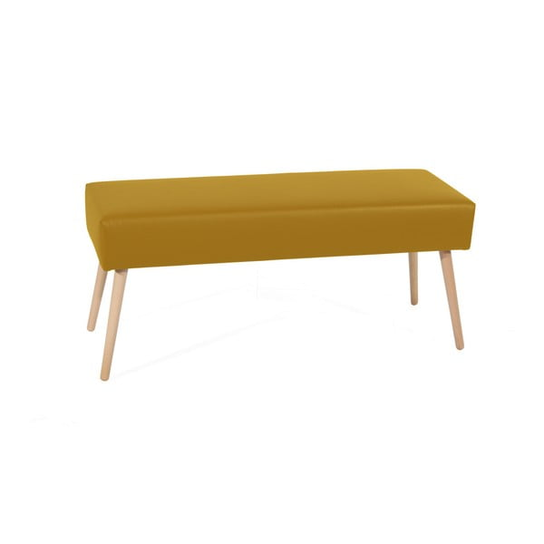 Żółta ławka Max Winzer Sue