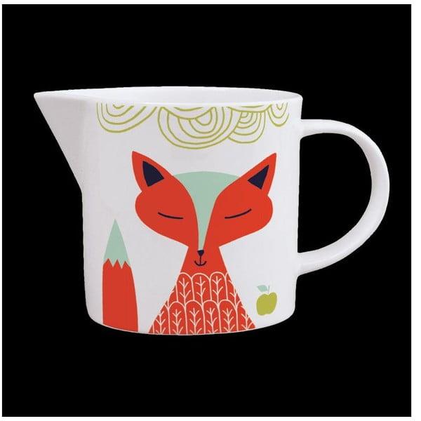 Dzbanek z angielskiej porcelany Folkland Foxy