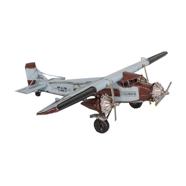 Dekoracja samolot Blue Plane
