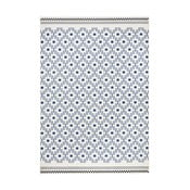 Niebiesko-biały dywan Hanse Home Cubic, 70x140 cm