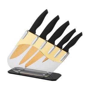 5-częściowy zestaw noży w stojaku Damascus Gold