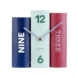 Zegar stołowy Karlsson Books Contra