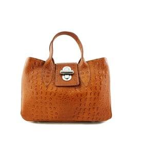Skórzana torebka Bonita Cognac