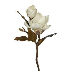 Sztuczny kwiat Magnolia White, 43 cm