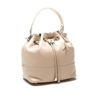 Skórzana torebka Luisa Vanini 1101 Fango