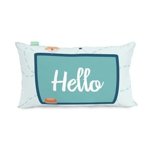 Poszewka na poduszkę z czystej bawełny Happynois Notebook, 50x30 cm