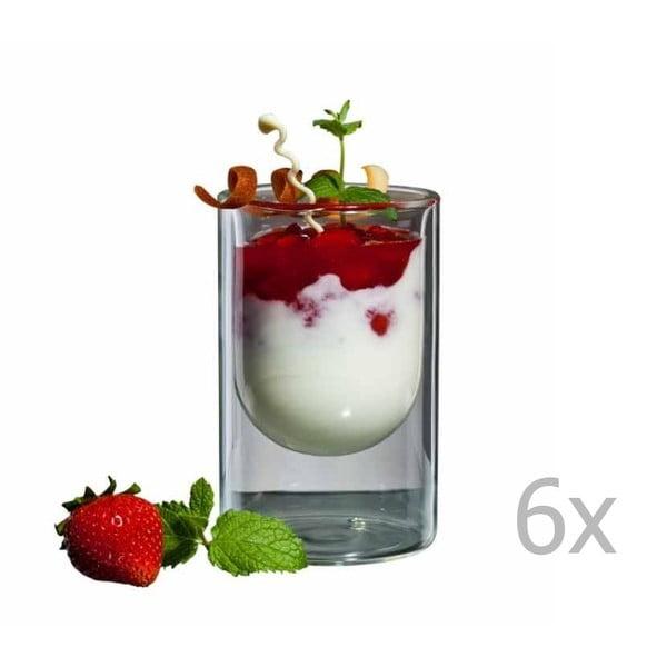 Zestaw   6 szklanek bloomix Half Moon