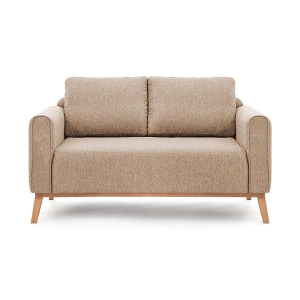Piaskowa sofa dwuosobowa VIVONITA Milton