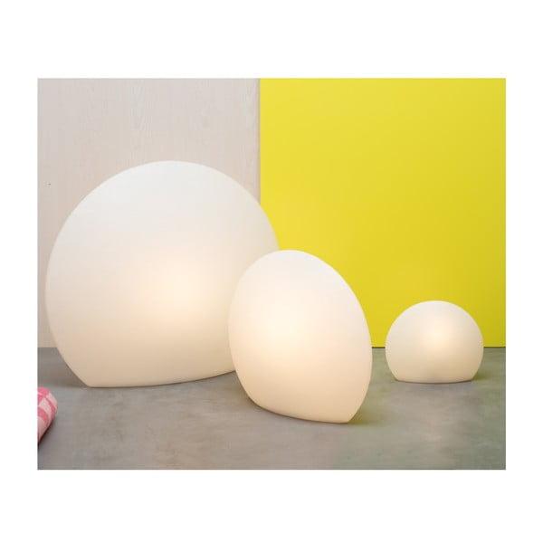 Lampa Eggo 30 cm, biała