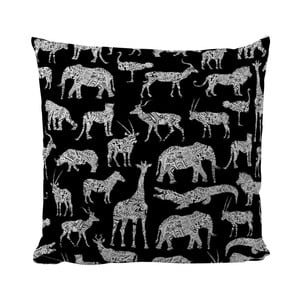 Poduszka Black Shake Animals, 50x50 cm