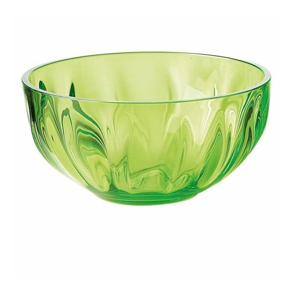 Zielona miska Fratelli Guzzini Aqua, 15 cm