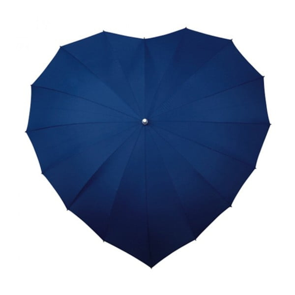 Parasolka Navy Blue Heart