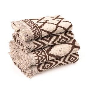 Komplet 4 ręczników bawełnianych Casa Di Bassi Mediva
