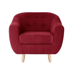 Czerwony fotel Jalouse Maison Vicky