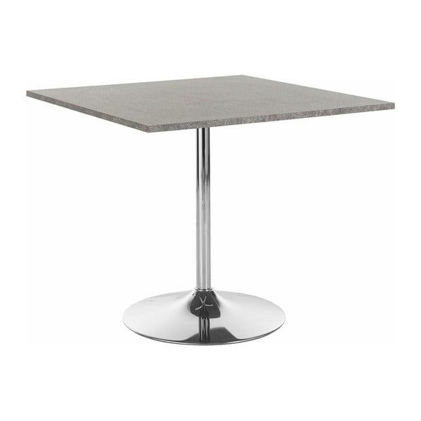 Stół do jadalni z szarym blatem Støraa Trent