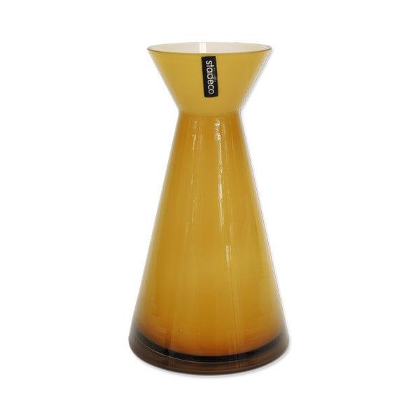 Szklany wazon Istra, pomarańczowy