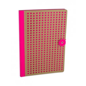 Różowy notatnik B5 Portico Designs Laser