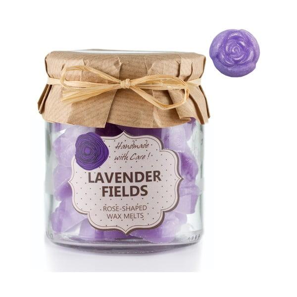 Zestaw 18 małych świeczek zapachowych Lavender Fields