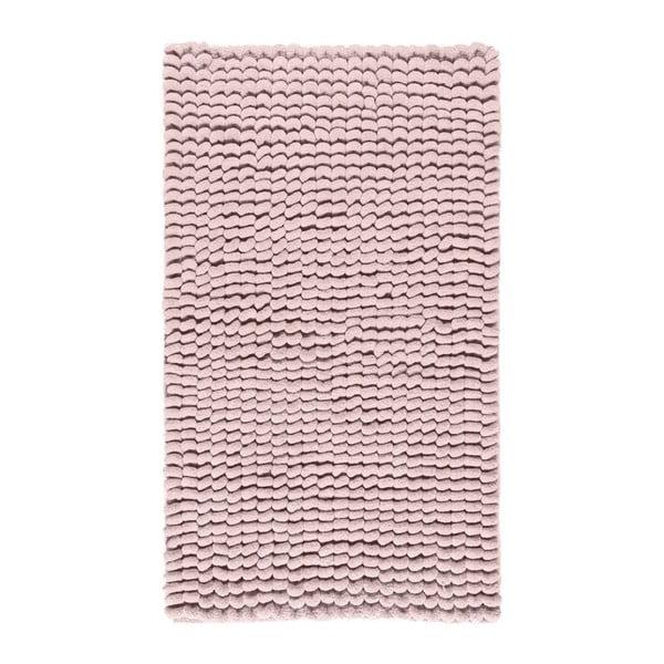 Różowy dywanik łazienkowy Aquanova Luka, 60x100 cm