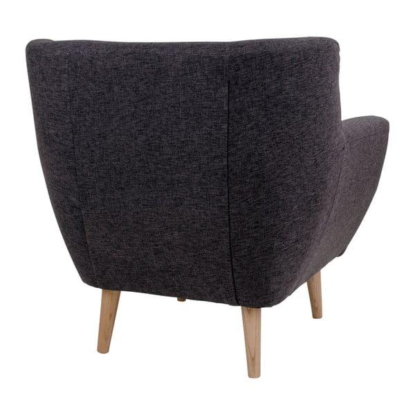 Ciemnoszary fotel House Nordic Monte
