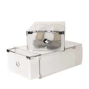 Zestaw 2 pojemników na buty JOCCA Plastic Boxes, 34x22 cm