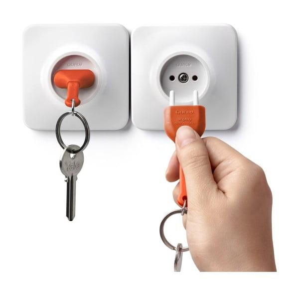 Zawieszka na klucze QUALY Unplug, pomarańczowa