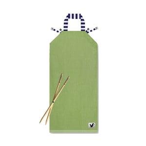 Plażowy leżak Origama Olive Stripes