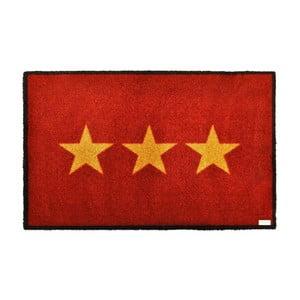 Wycieraczka Stars Red, 50x70 cm