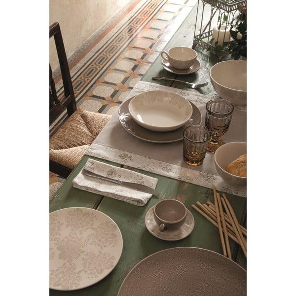 Zestaw 6 talerzy deserowych Algarve Beige