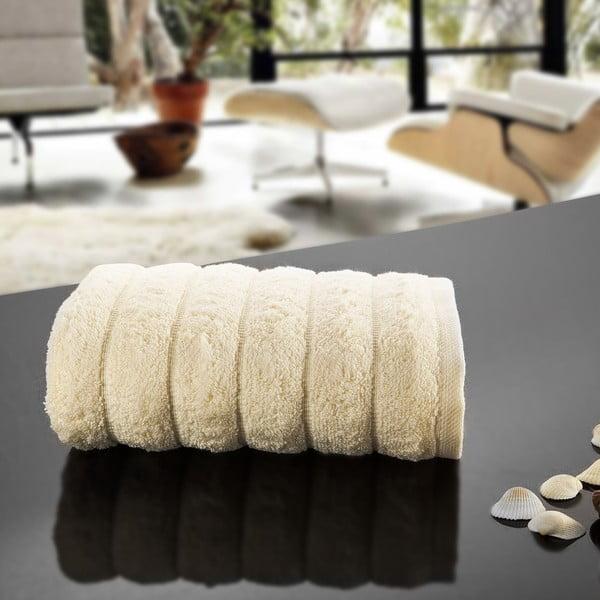 Ręcznik Dalga Cream, 50x90 cm