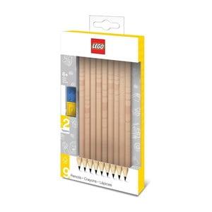 Komplet 9 ołówków grafitowych LEGO®