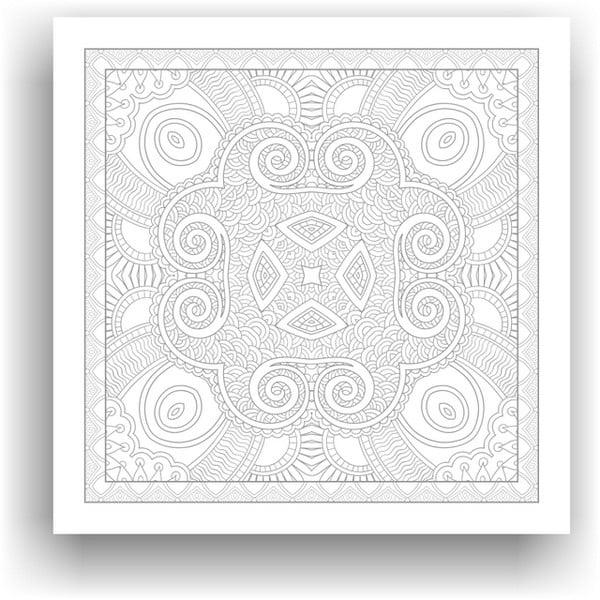 Obraz do kolorowania 109, 50x50 cm