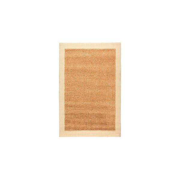 Dywan wełniany Dama no. 610, 60x120 cm, pomarańczowy
