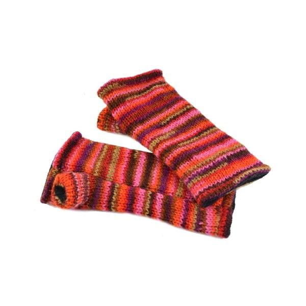 Rękawiczki bez palców Spacedye Red