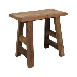 Stołek z drewna tekowego HSM collection Bench