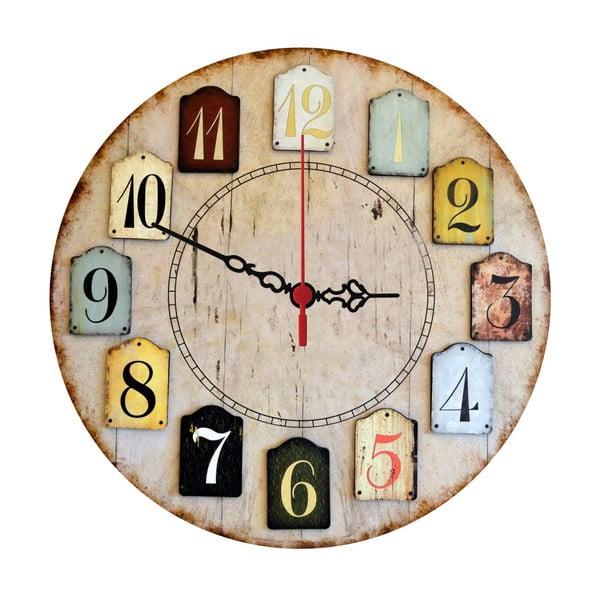 Zegar ścienny Numbers, 30 cm